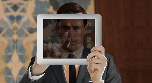 Don Draper meets the iPad and iAd