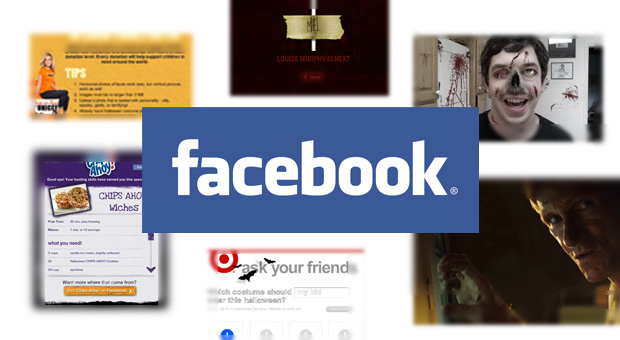 Facebook Halloween Campaigns