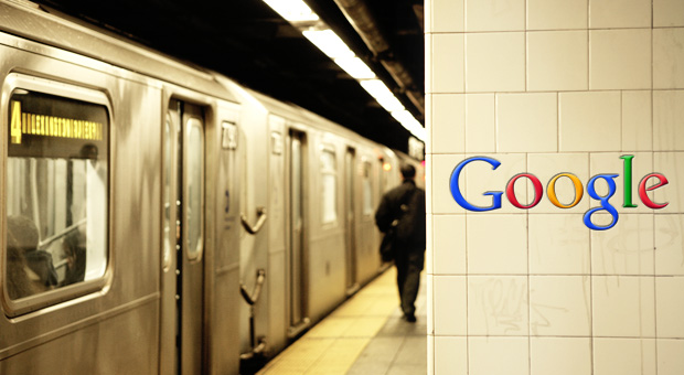 Google Subway Ads