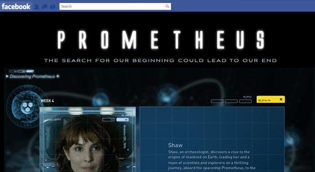 prometheus viral campaign
