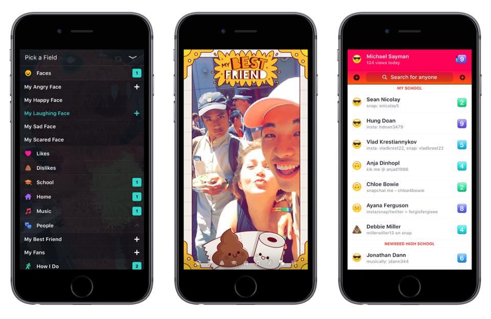 Lifestage app screenshots on iPhones