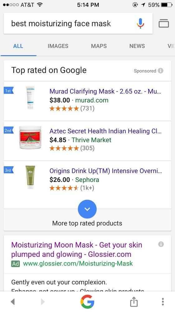 best moisturizing face cream google results