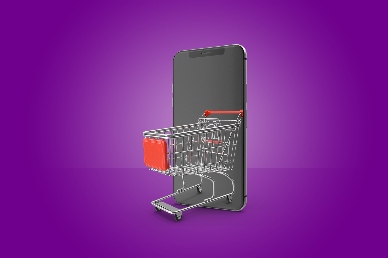shopping on your phone
